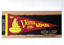 Load image into Gallery viewer, Votes For Women Pennant