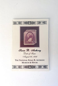 Susan B. Anthony Mint Stamp on Card