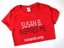 Load image into Gallery viewer, Susan B. Inspires Me T-Shirt
