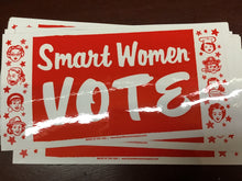Load image into Gallery viewer, Smart Women Vote Bumper Sticker