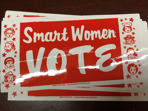 Smart Women Vote Bumper Sticker