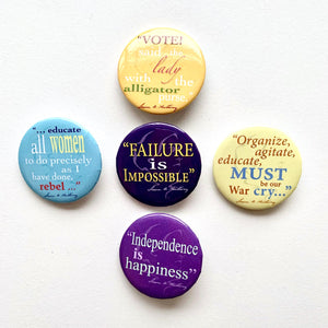 Quote Buttons- Set of 5