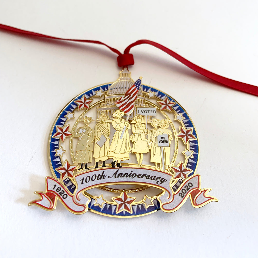 100th Anniversary Ornament
