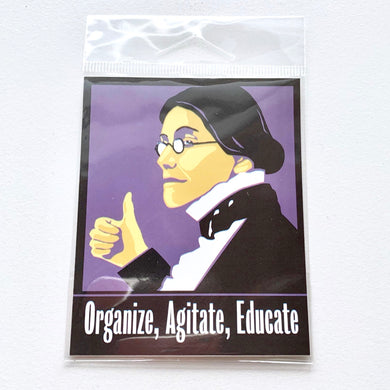 Organize, Agitate, Educate Sticker