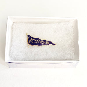 Votes for Women Pennant Pin