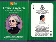 Load image into Gallery viewer, Famous Women-The History Channel Playing Cards