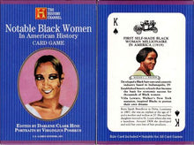 Load image into Gallery viewer, Notable Black Women- The History Channel Playing Cards