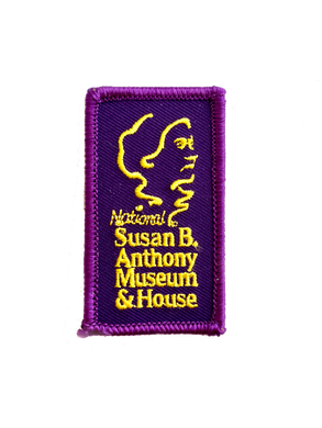 Purple & Yellow Embroidered Patch