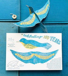 Pop Out Bird Card