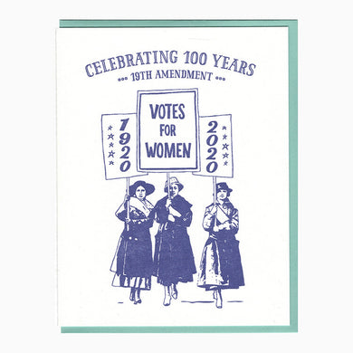 19th Amendment Card