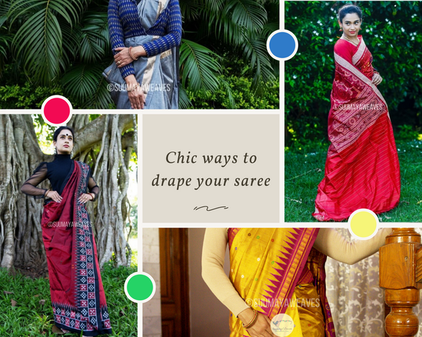 Chic ways to drape your saree