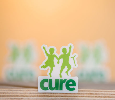 CURE Logo Stickers Pack [Small]