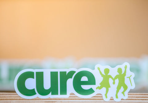 CURE Logo Stickers Pack [Large]