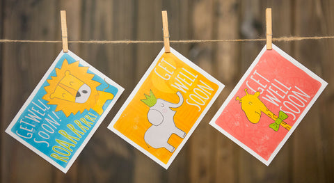 Get Well Cards [Pack of 45]
