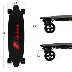 "Electric Skateboard P6/ P6 Pro - ""Dragon"" By Phoenix Ryders"