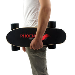 "Electric Skateboard P1 - ""Dragon Lite Raven"" by Phoenix Ryders"