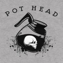 Load image into Gallery viewer, Funny coffee pot head t-shirt