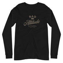 Load image into Gallery viewer, Bad Attitude Apparel Unisex Long Sleeve Tee
