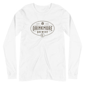 Drinkmore Brewery Unisex Long Sleeve Tee