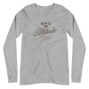 Bad Attitude Apparel Unisex Long Sleeve Tee