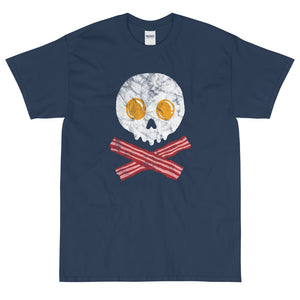 Bacon and eggs pirate t-shirt