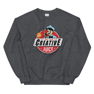 Creative juice sweatshirt