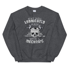 Load image into Gallery viewer, Stay well lubricated sleep with a mechanic sweatshirt