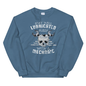 Stay well lubricated sleep with a mechanic sweatshirt