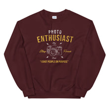 Load image into Gallery viewer, Photo enthusiast sweatshirt