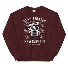 Load image into Gallery viewer, Dead pirates sweatshirt