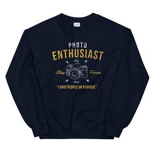 Photo enthusiast sweatshirt