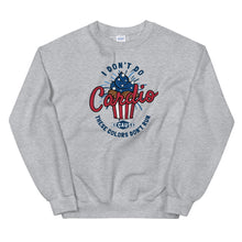 Load image into Gallery viewer, I don't do cardio sweatshirt