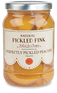 Natural Pickled Pink - Perfectly Pickled Peaches
