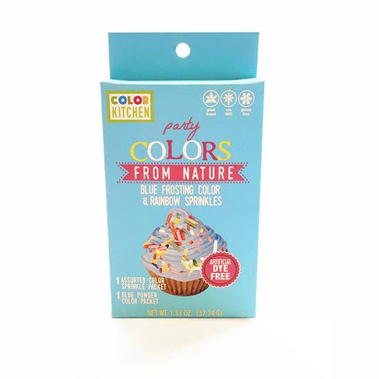 Color Kitchen - Frosting and Rainbow Sprinkles Kit