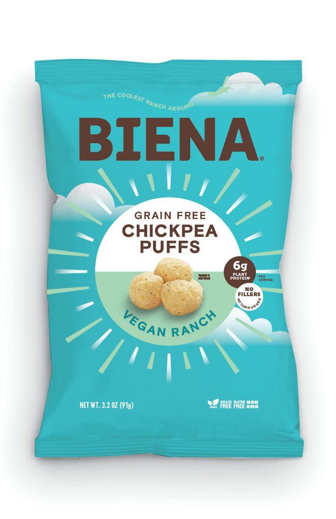 Biena Snacks - Baked Chickpea Puffs