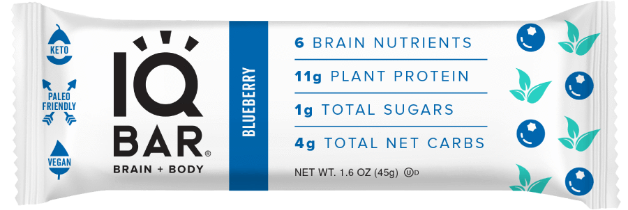 IQ BAR Brain + Body - Blueberry