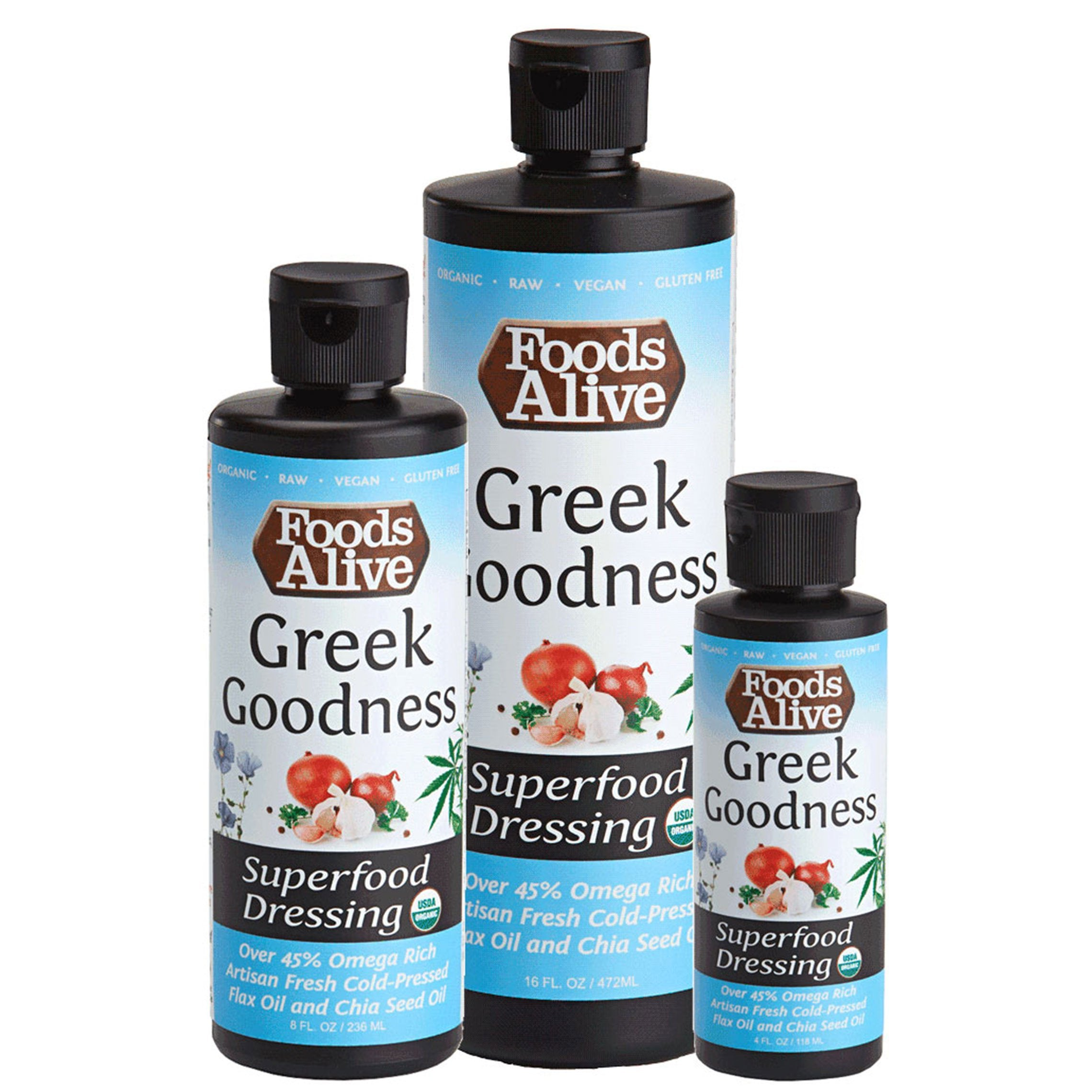 Foods Alive - Greek Goodness Superfood Dressing (8 oz)