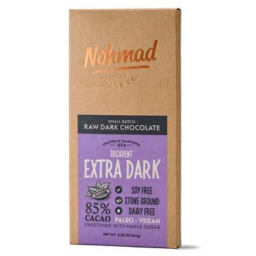 Nohmad - Raw Dark Chocolate (Extra Dark)