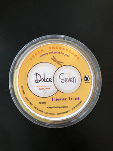 Dolce Seven - Passion Fruit Cheesecake (8 oz.)