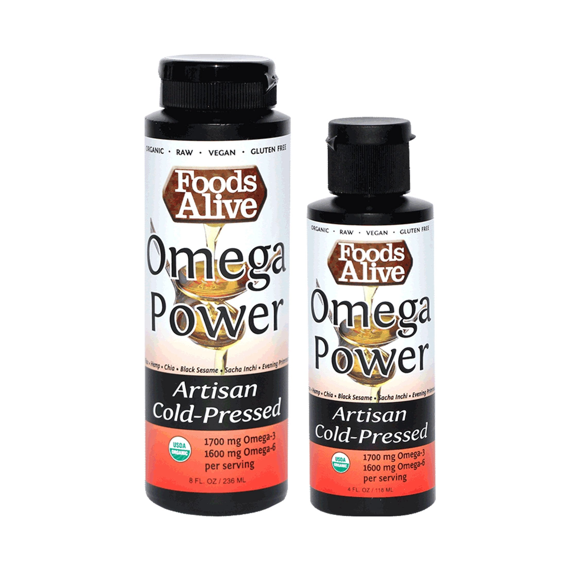 Foods Alive - Omega Power Oil (4 oz)