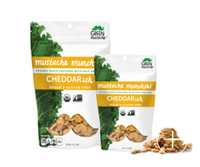Green Mustache - Cheddarish Mustache Munchies (1 oz)
