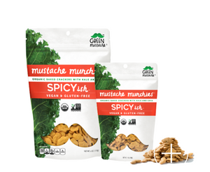 Green Mustache - Spicyish Mustache Munchies (4 oz)