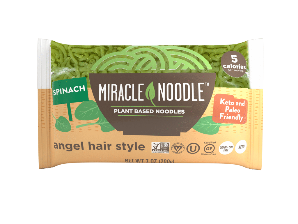 Miracle Noodle - Spinach Angel Hair