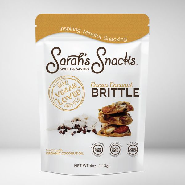 Sarah's Sweet and Savory Snacks - Vegan Candy Brittle