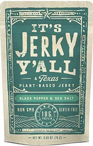 It's Jerky Y'all - Black Pepper & Sea Salt (2.69 oz.)