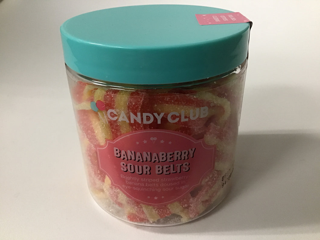 Candy Club - Bananaberry Sour Belts