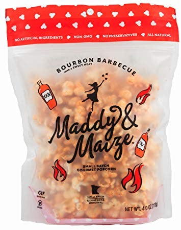 Maddy & Maize Popcorn - Bourbon Barbecue