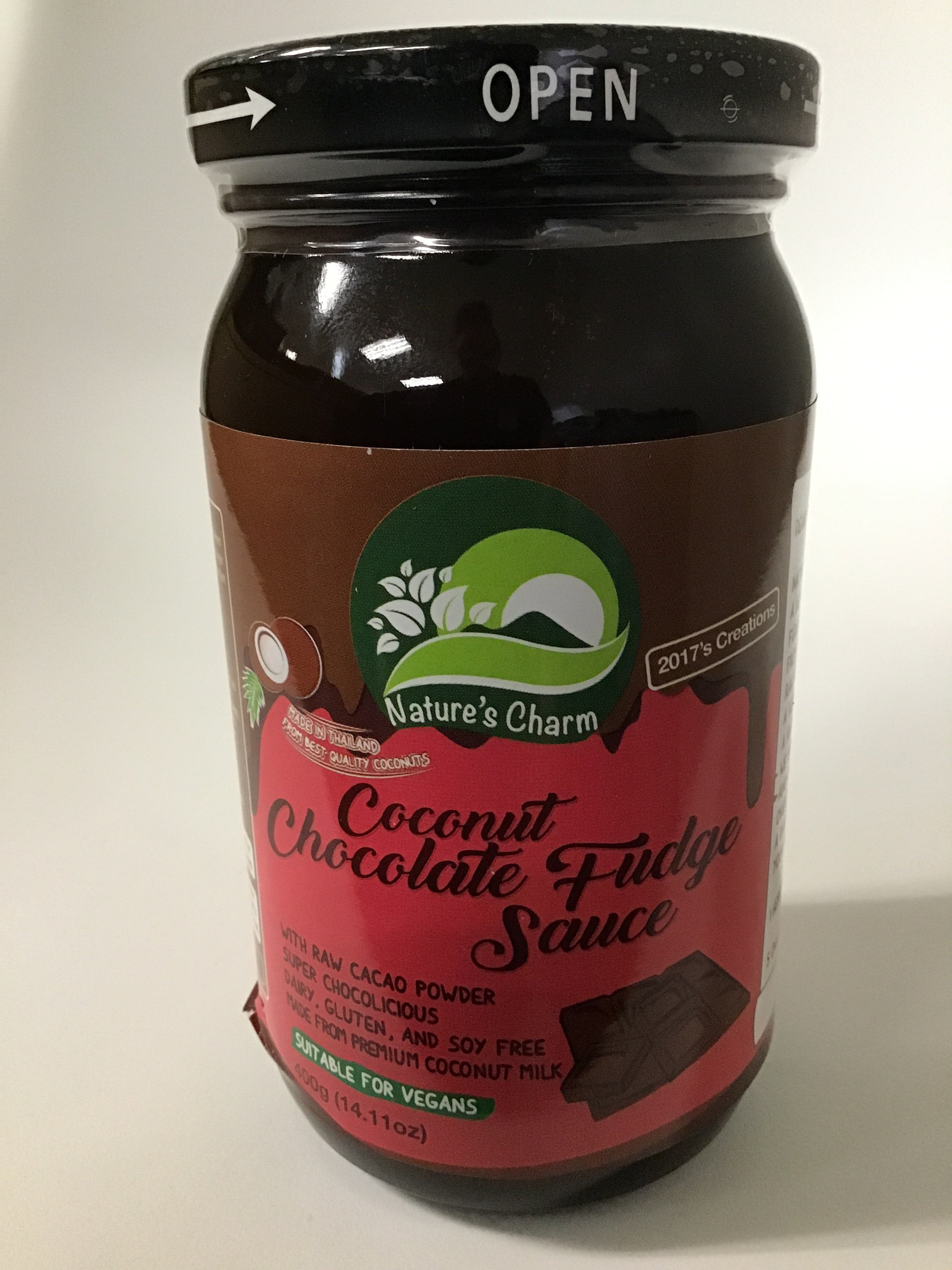 Natures Charm - Coconut Chocolate Fudge Sauce