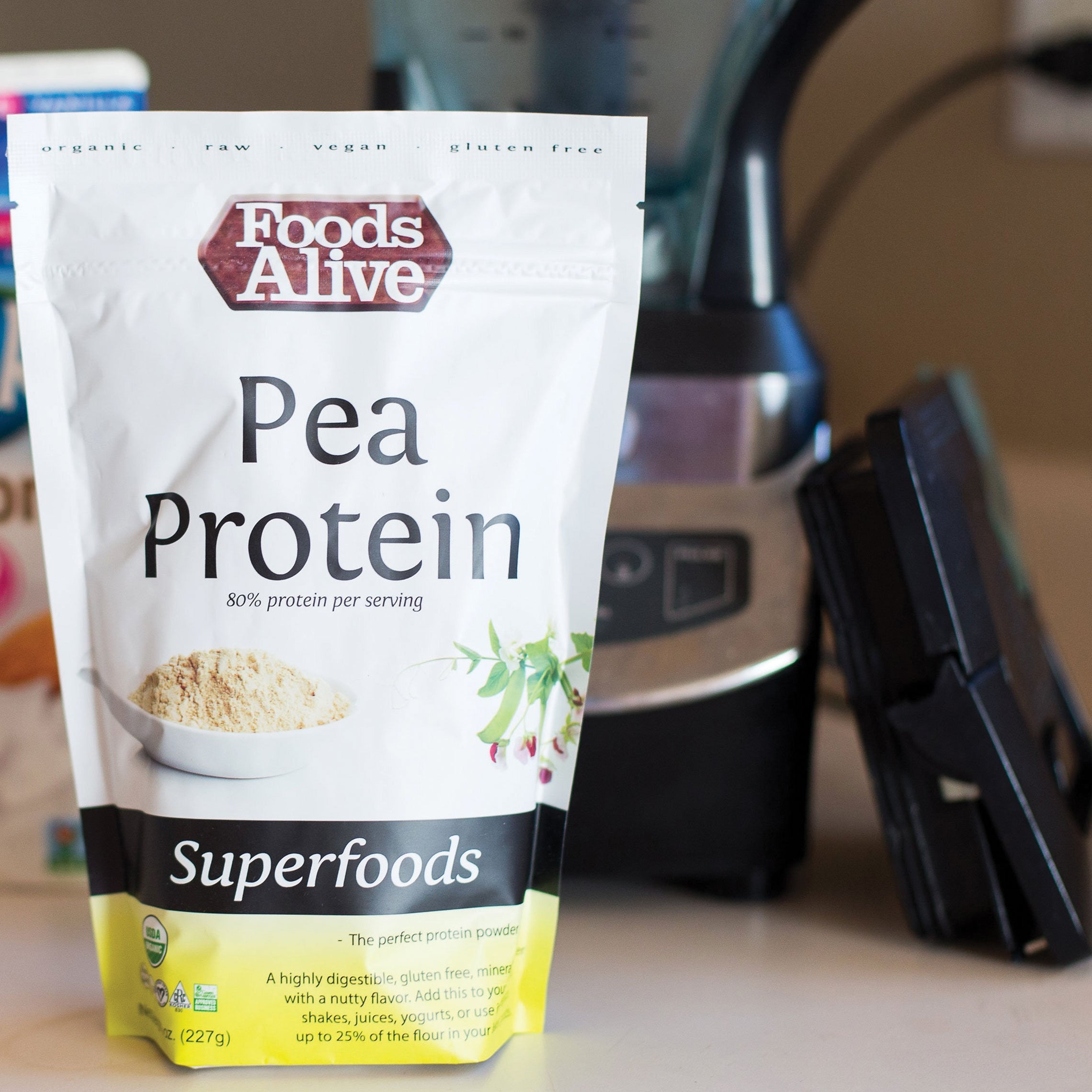 Foods Alive - Pea Protein Powder
