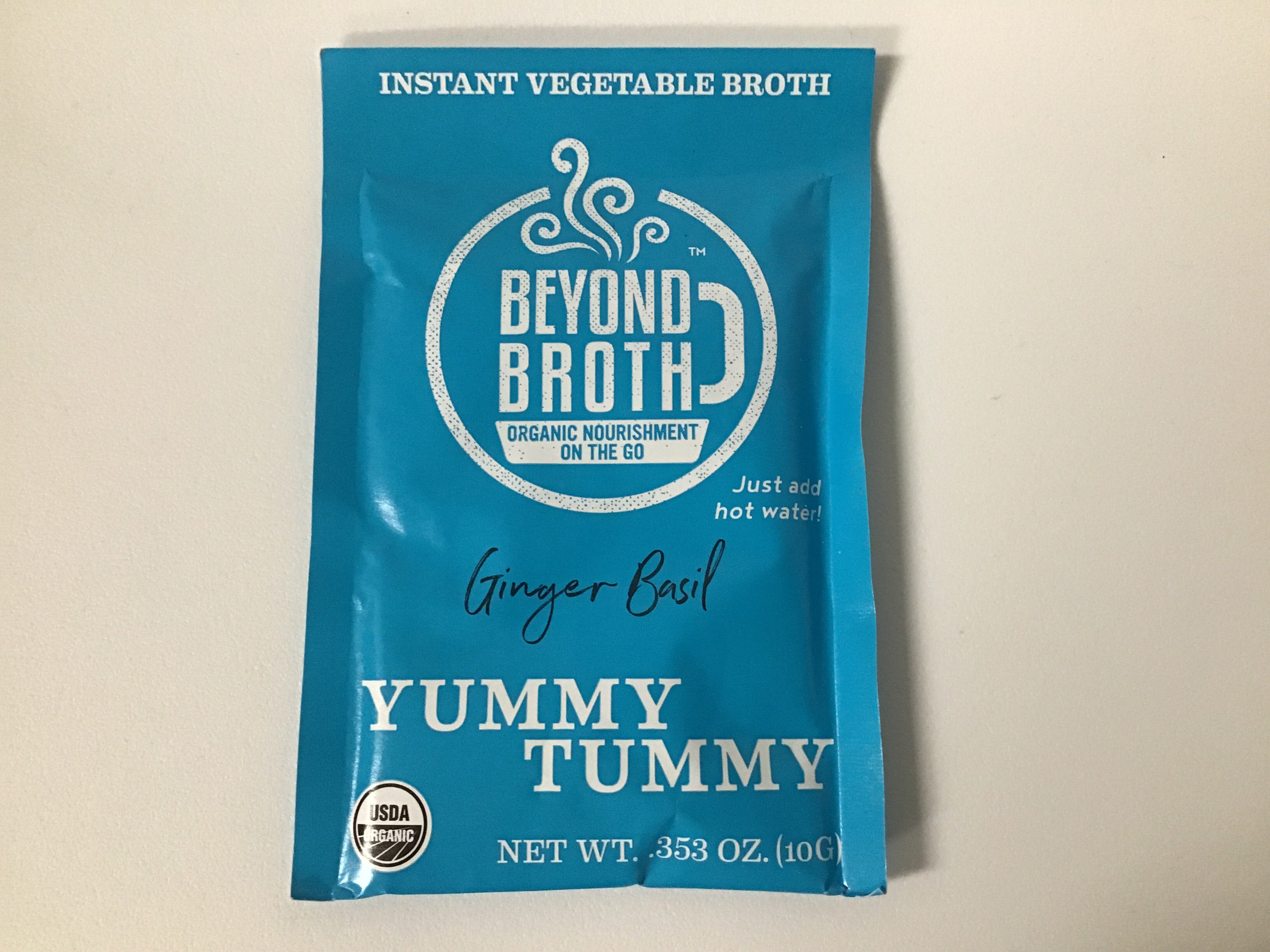 Beyond Broth - YUMMY TUMMY (Ginger Basil) Vegan Instant Broth